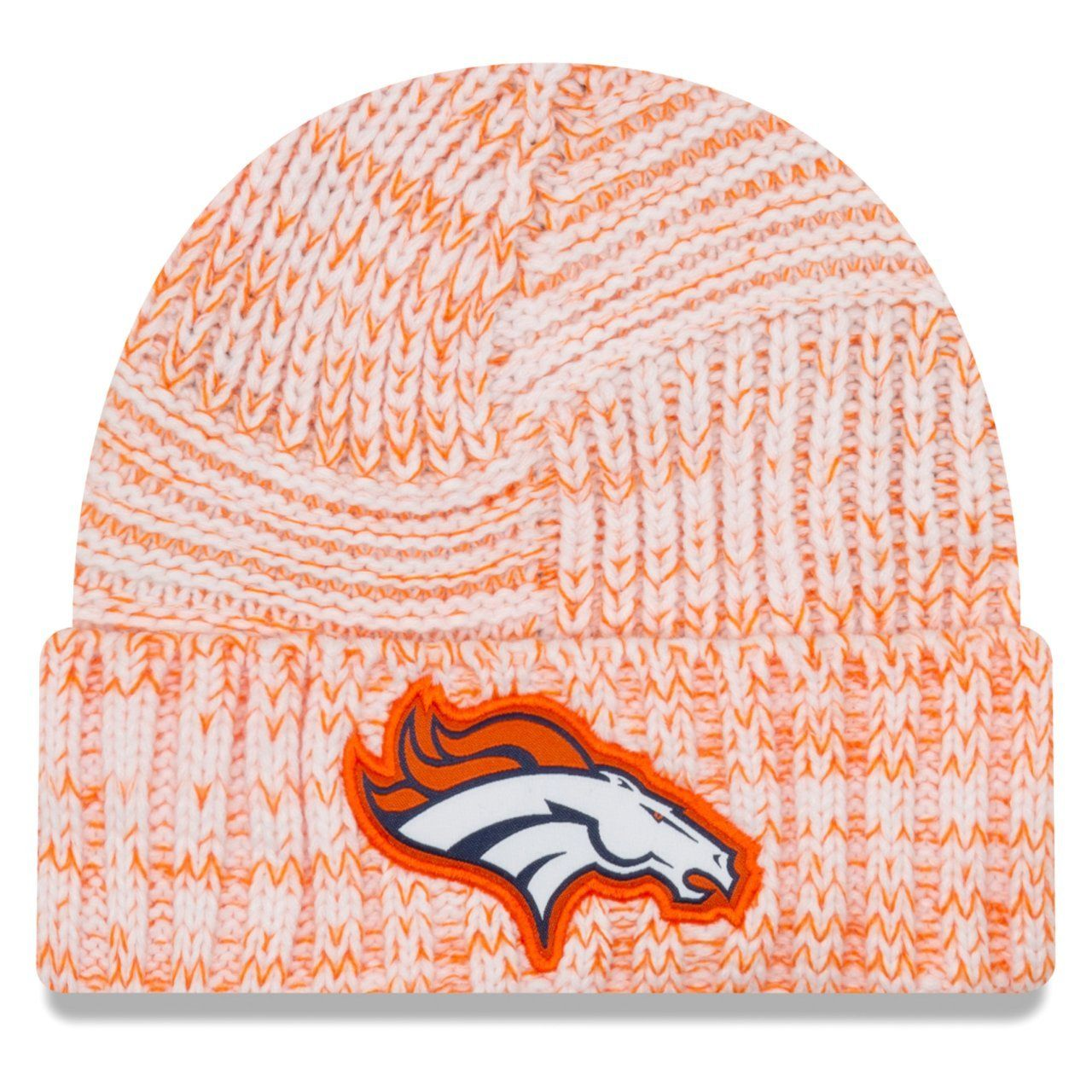 amfoo - New Era Sideline 2019 Damen Strick Mütze - Denver Broncos