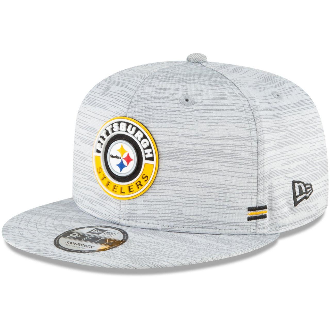 amfoo - New Era 950 Snapback Cap - SIDELINE 2020 Pittsburgh Steelers
