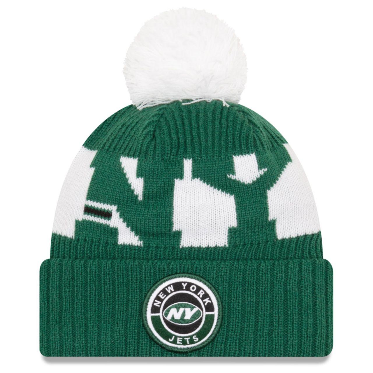 amfoo - New Era NFL ON-FIELD Sideline Mütze - New York Jets