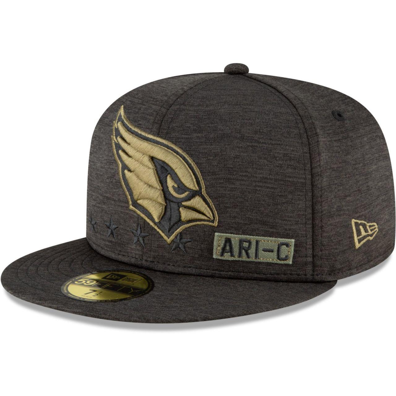 amfoo - New Era 59FIFTY Cap Salute to Service NFL Arizona Cardinals