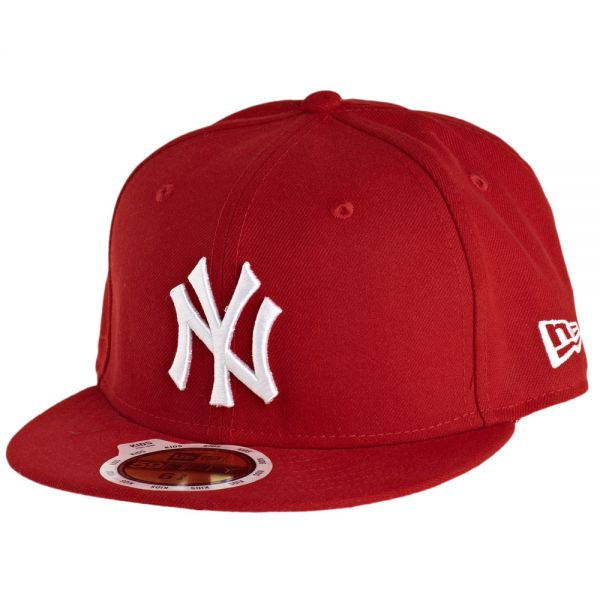 New Era 59Fifty Fitted KIDS Cap - NY Yankees rot / weiß