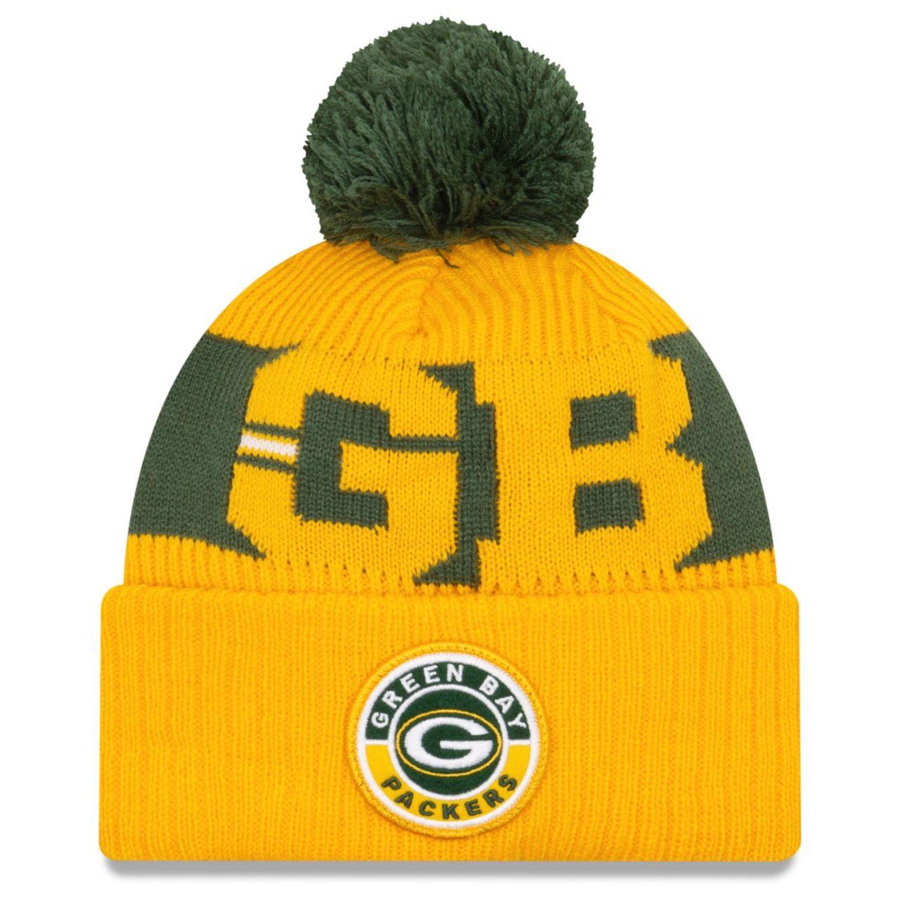 amfoo - New Era NFL ON-FIELD Sideline Mütze - Green Bay Packers II