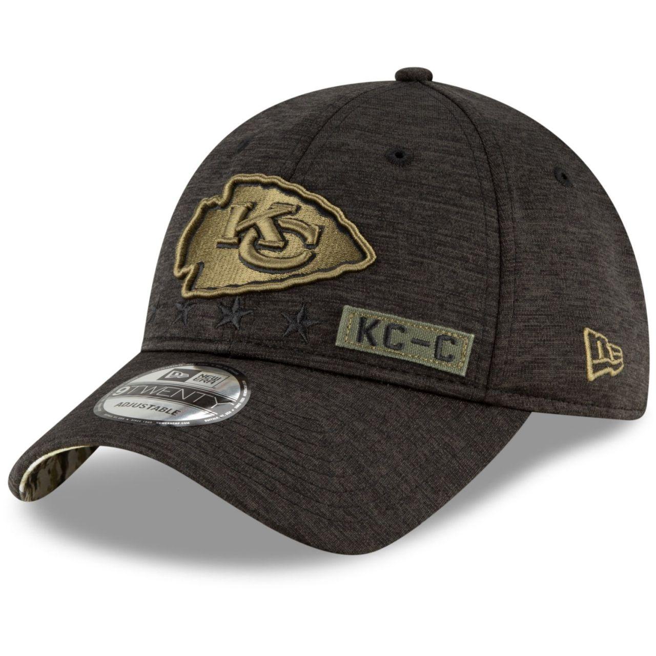 amfoo - New Era 9TWENTY Cap Salute to Service Kansas City Chiefs