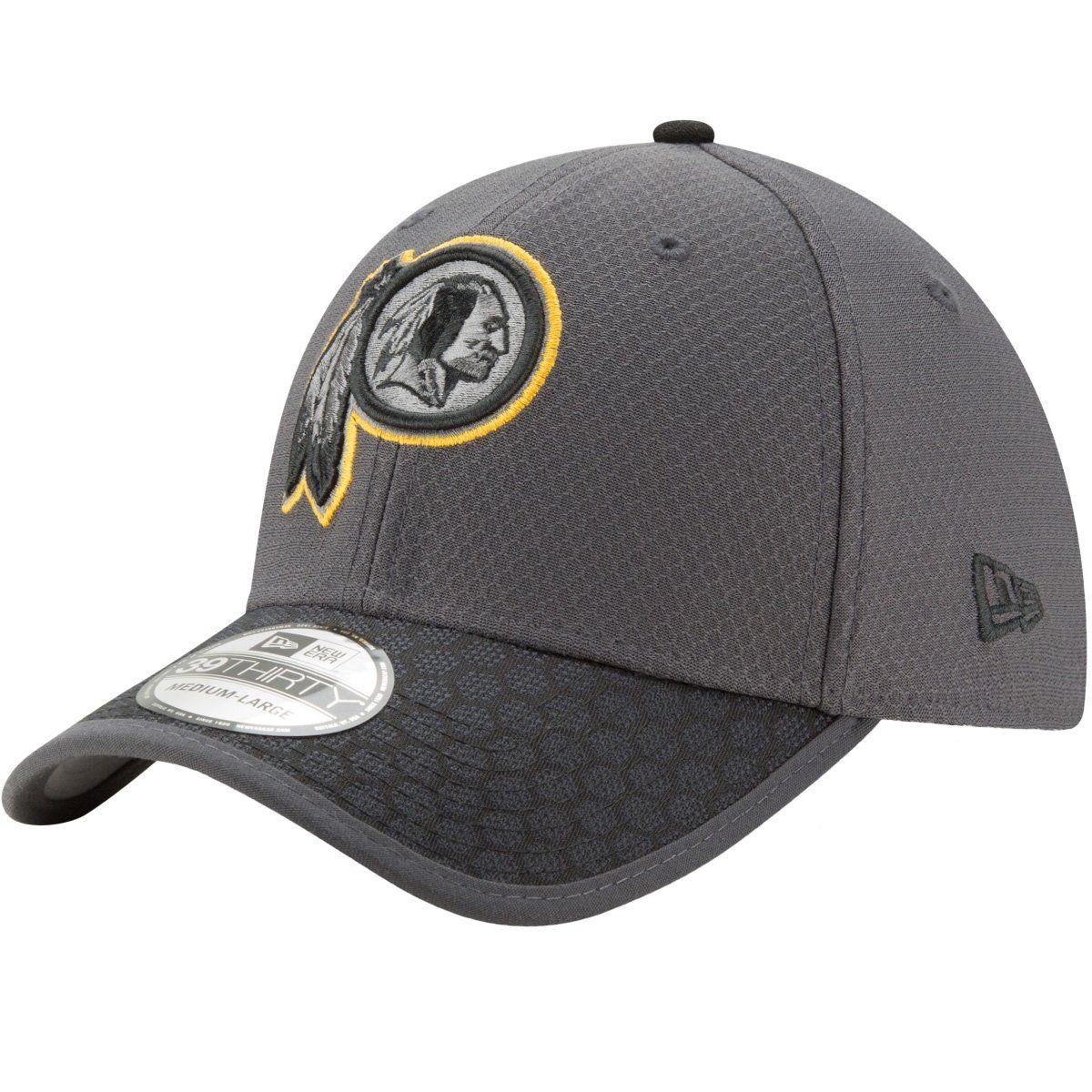 amfoo - New Era 39Thirty Cap - NFL 2017 SIDELINE Washington Redskins
