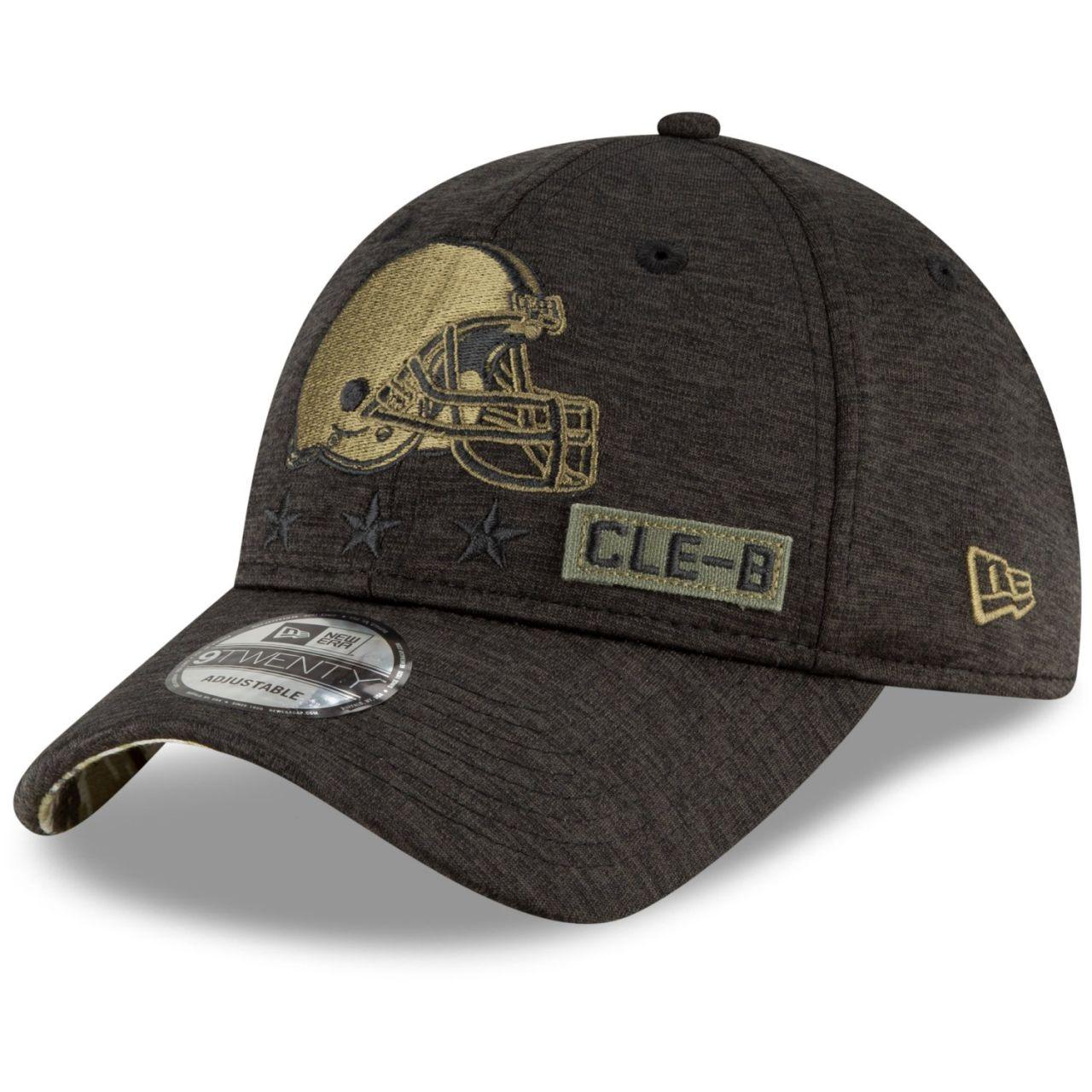 amfoo - New Era 9TWENTY Cap Salute to Service Cleveland Browns