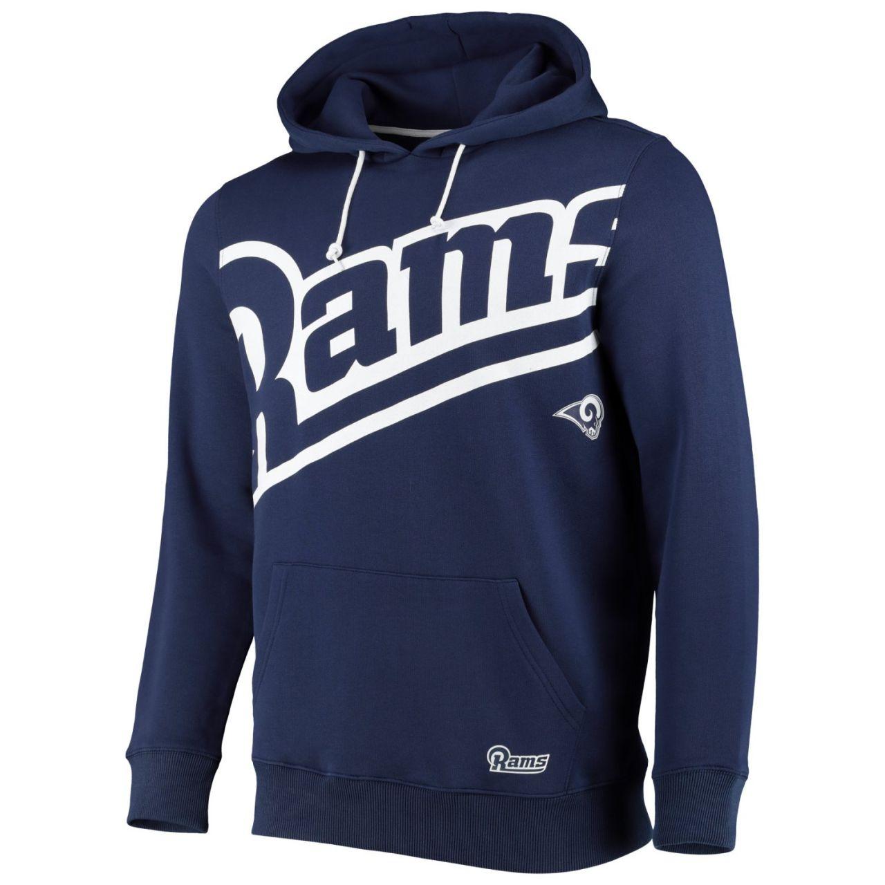amfoo - Los Angeles Rams BIG GRAPHIC NFL Hoodie navy