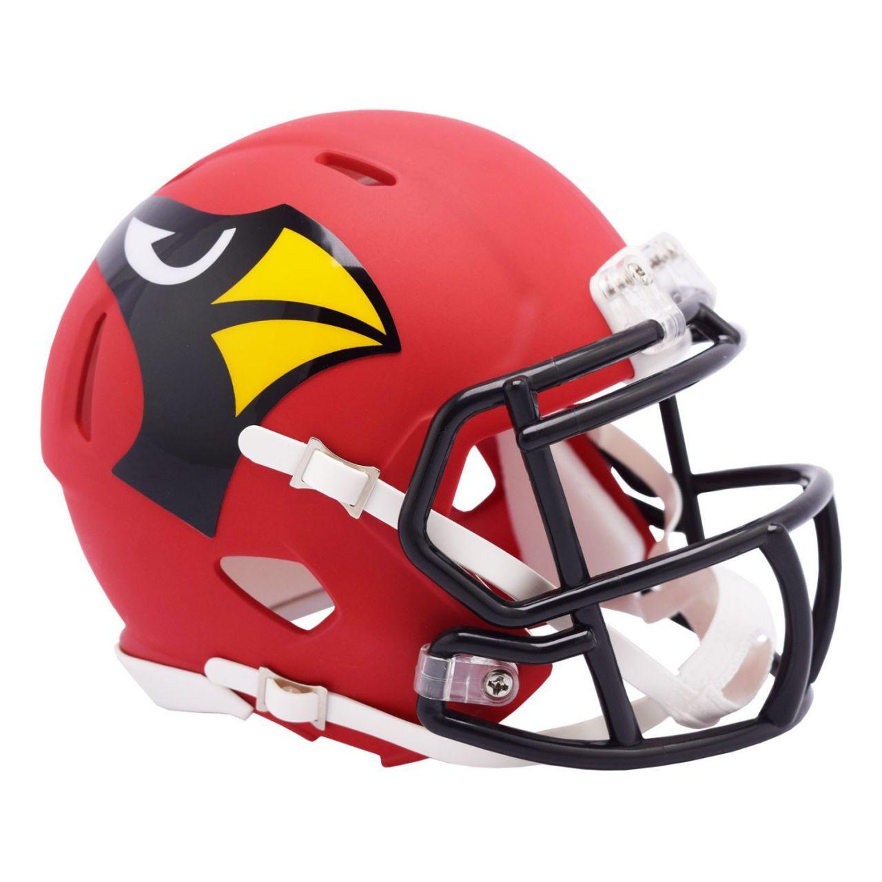 amfoo - Riddell Speed Mini Football Helm - NFL AMP Arizona Cardinals