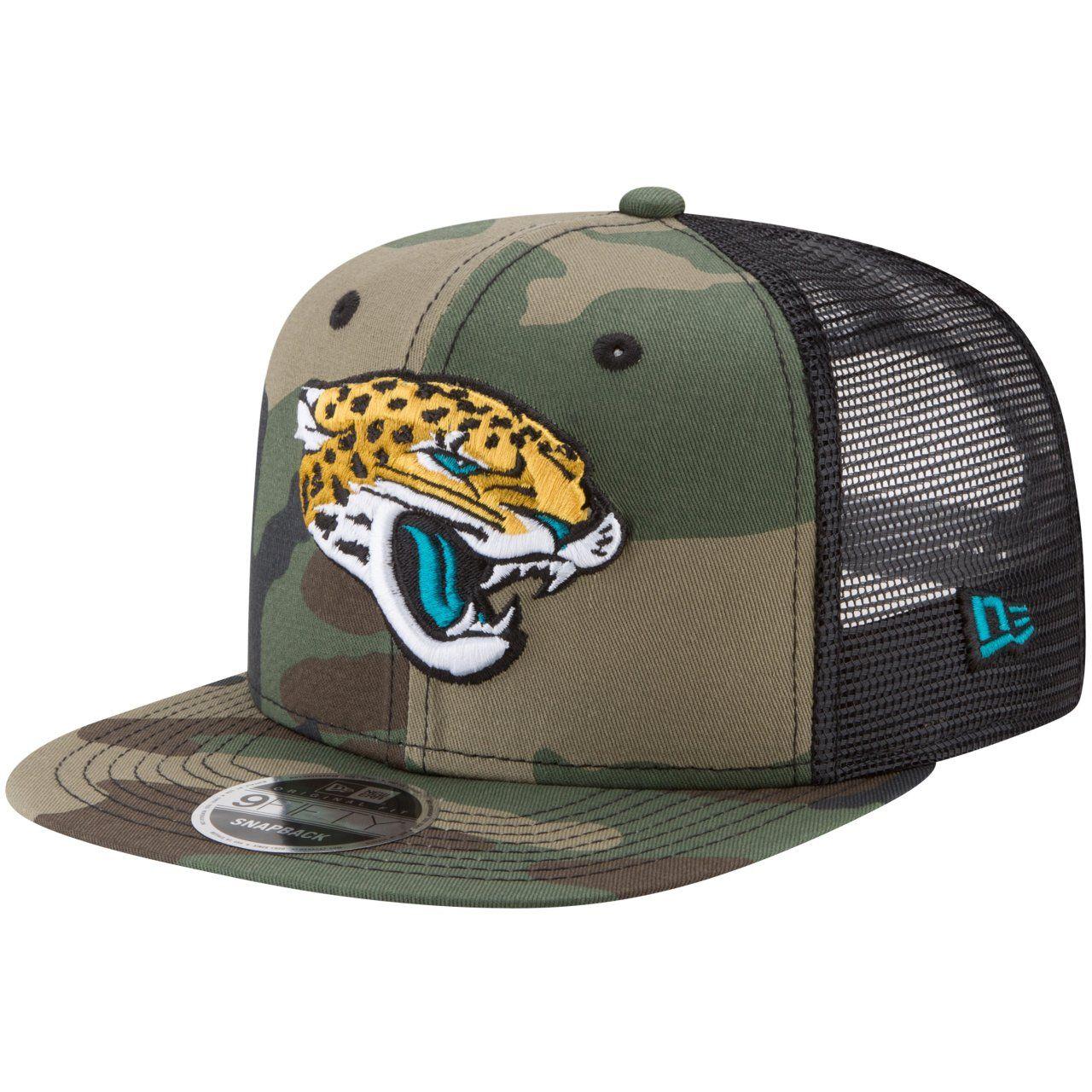 amfoo - New Era 9Fifty Mesh Snapback Cap Jacksonville Jaguars wood