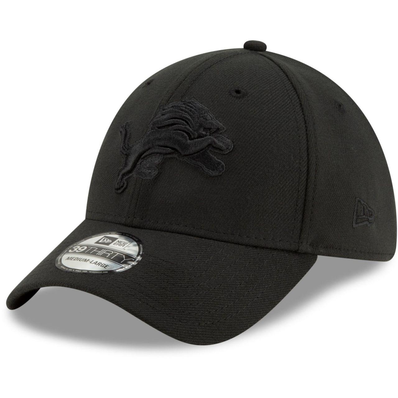 amfoo - New Era 39Thirty Stretch Cap - NFL Detroit Lions