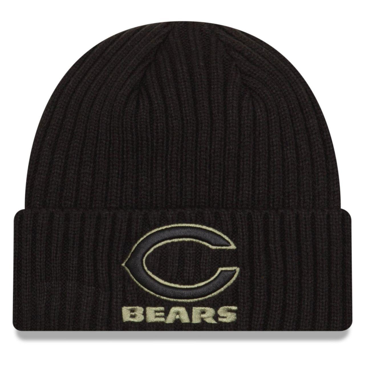 amfoo - New Era Salute to Service Wintermütze - Chicago Bears