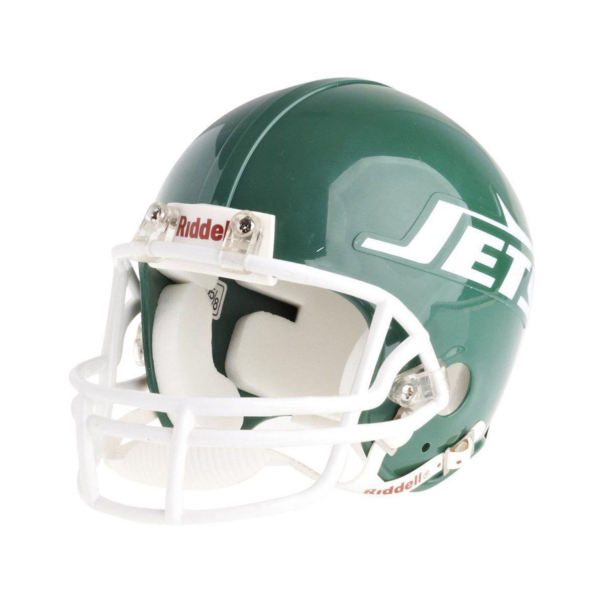 amfoo - Riddell VSR4 Mini Football Helm - NFL New York Jets 1978-89
