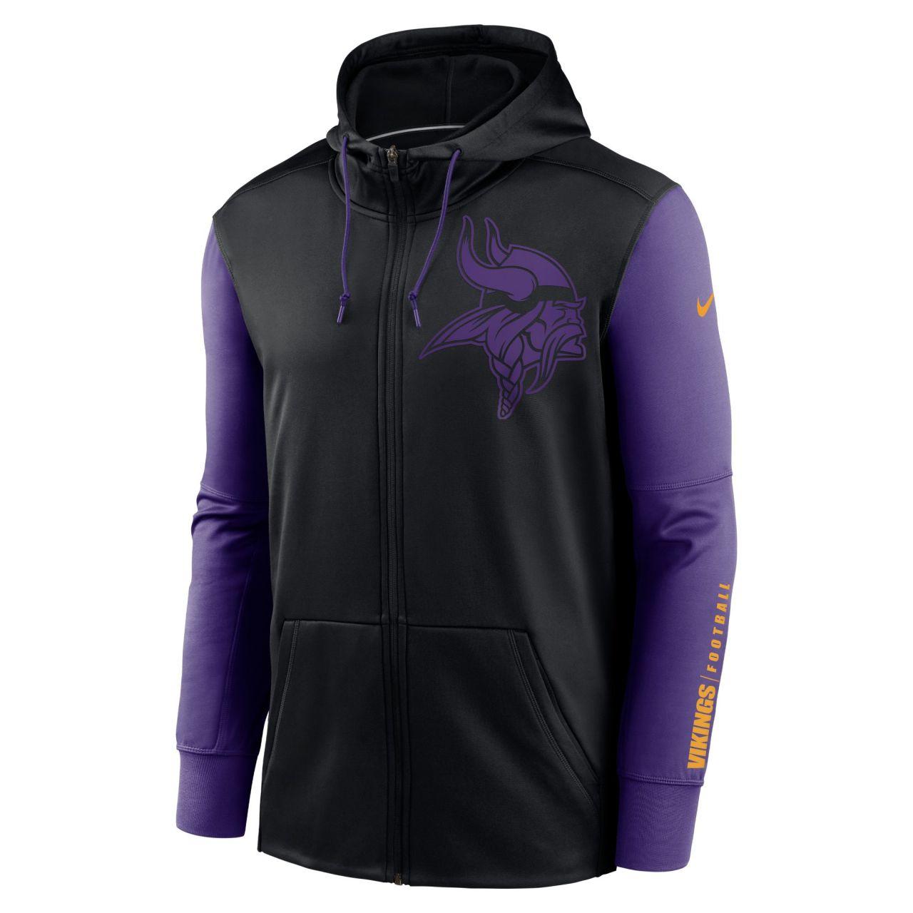 amfoo - Nike NFL Therma Zip Hoody - Minnesota Vikings