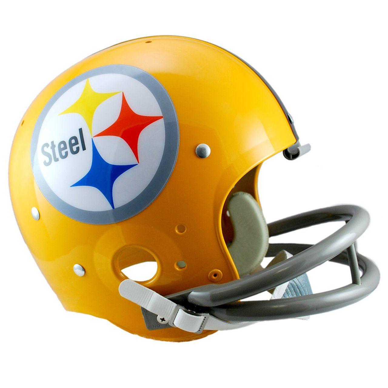 amfoo - Riddell TK Replica Football Helm - Pittsburgh Steelers 1962
