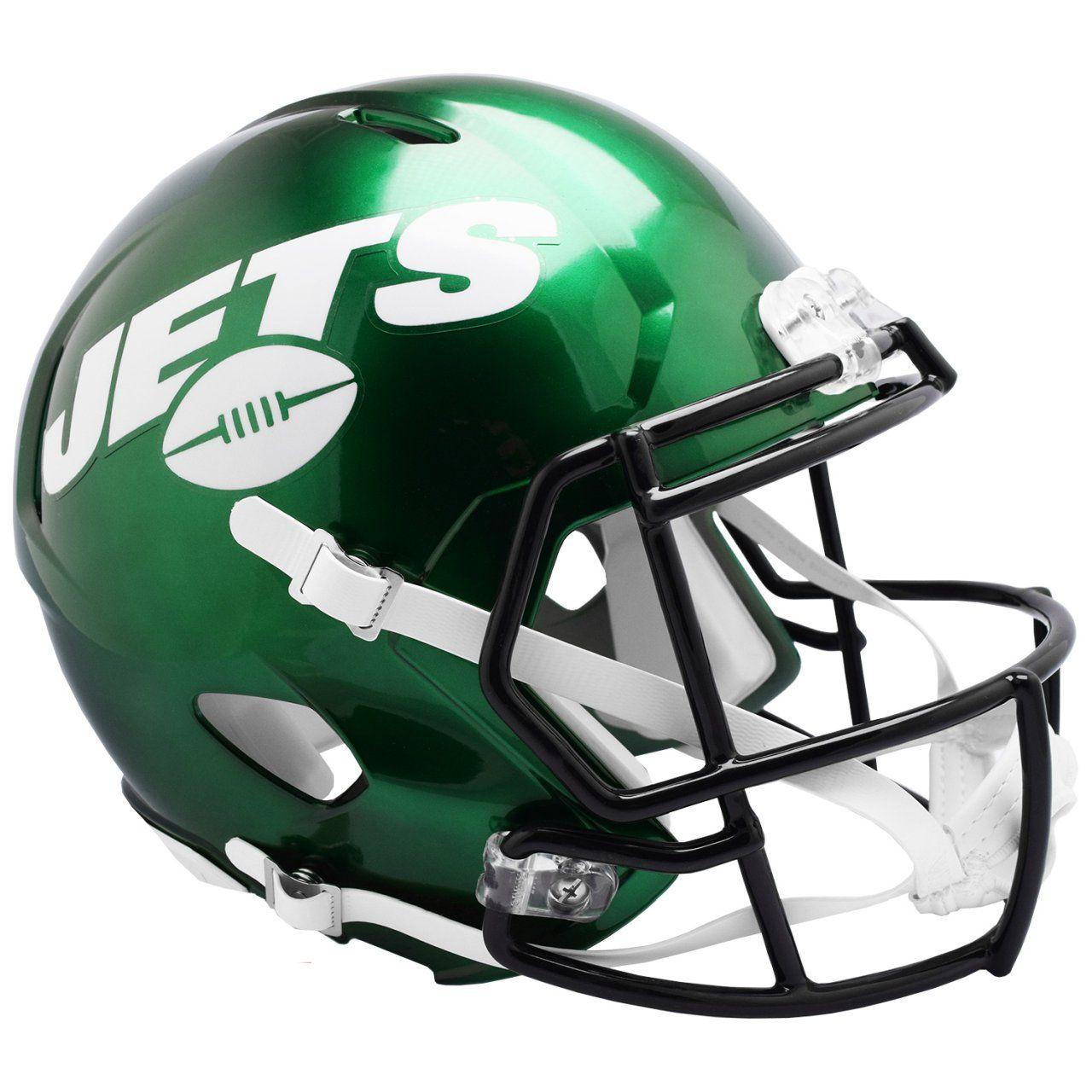 amfoo - Riddell Speed Replica Football Helm - New York Jets