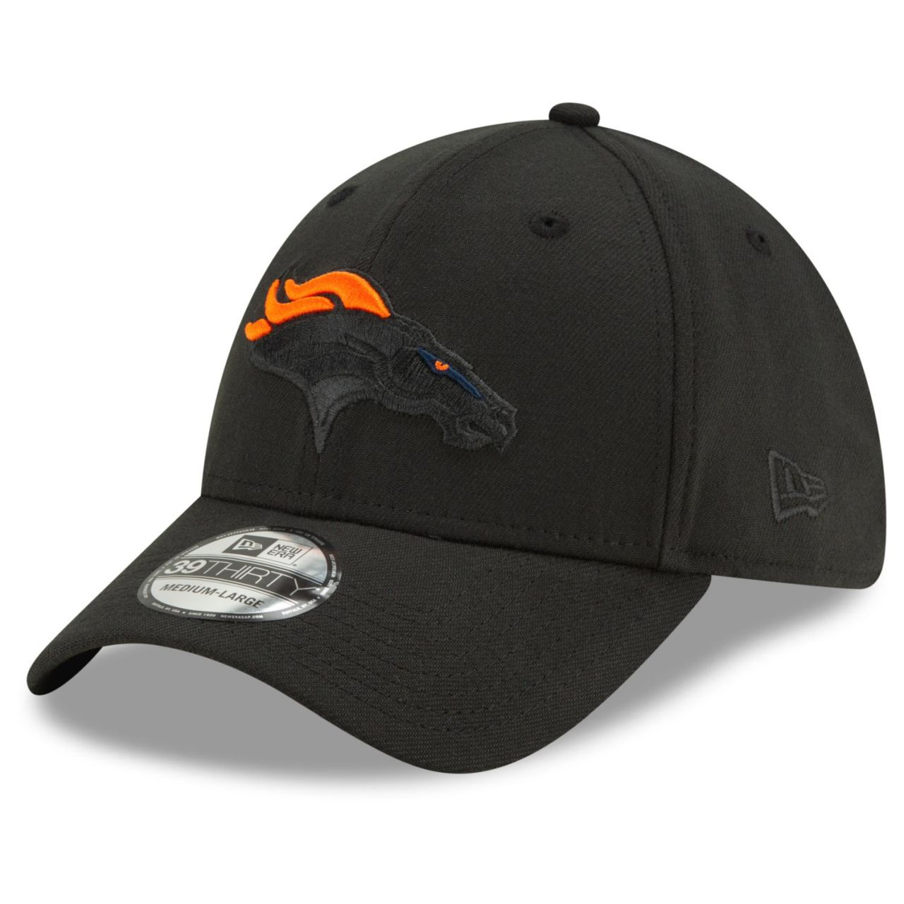 amfoo - New Era 39Thirty Stretch Cap - ELEMENTS Denver Broncos