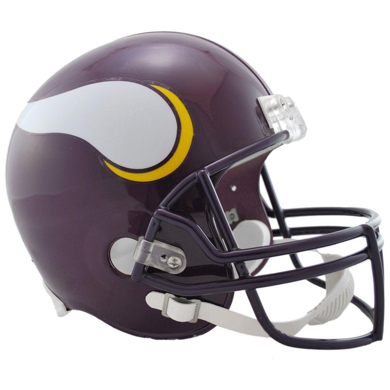 amfoo - Riddell VSR4 Replica Football Helm - Minnesota Vikings 83-01