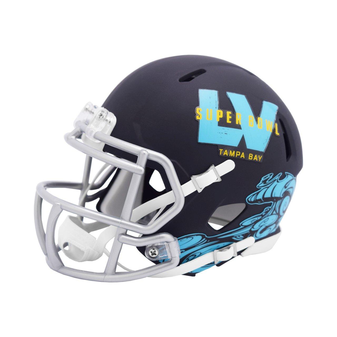 Riddell Speed Mini Football Helm - NFL SUPER BOWL LV Tampa