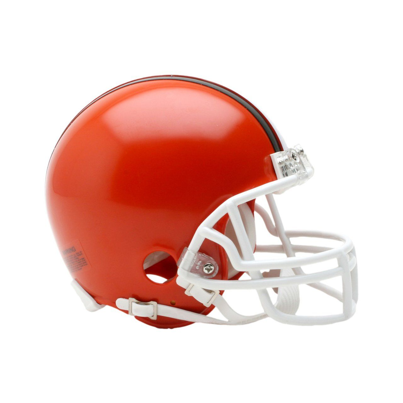amfoo - Riddell VSR4 Mini Football Helm - Cleveland Browns 1975-2005