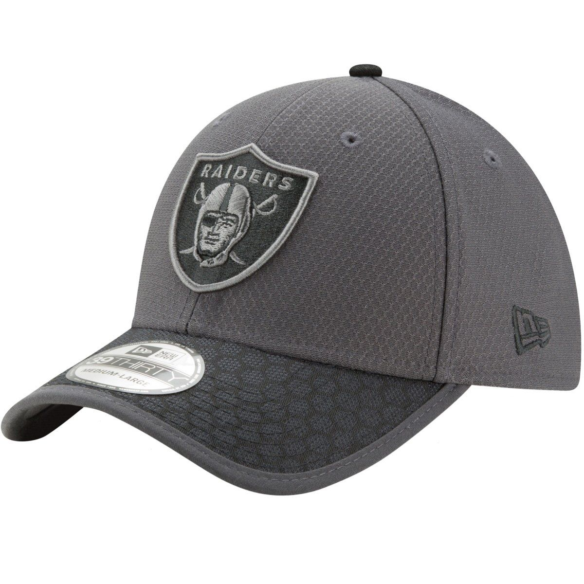 amfoo - New Era 39Thirty Cap - NFL 2017 SIDELINE Oakland Raiders
