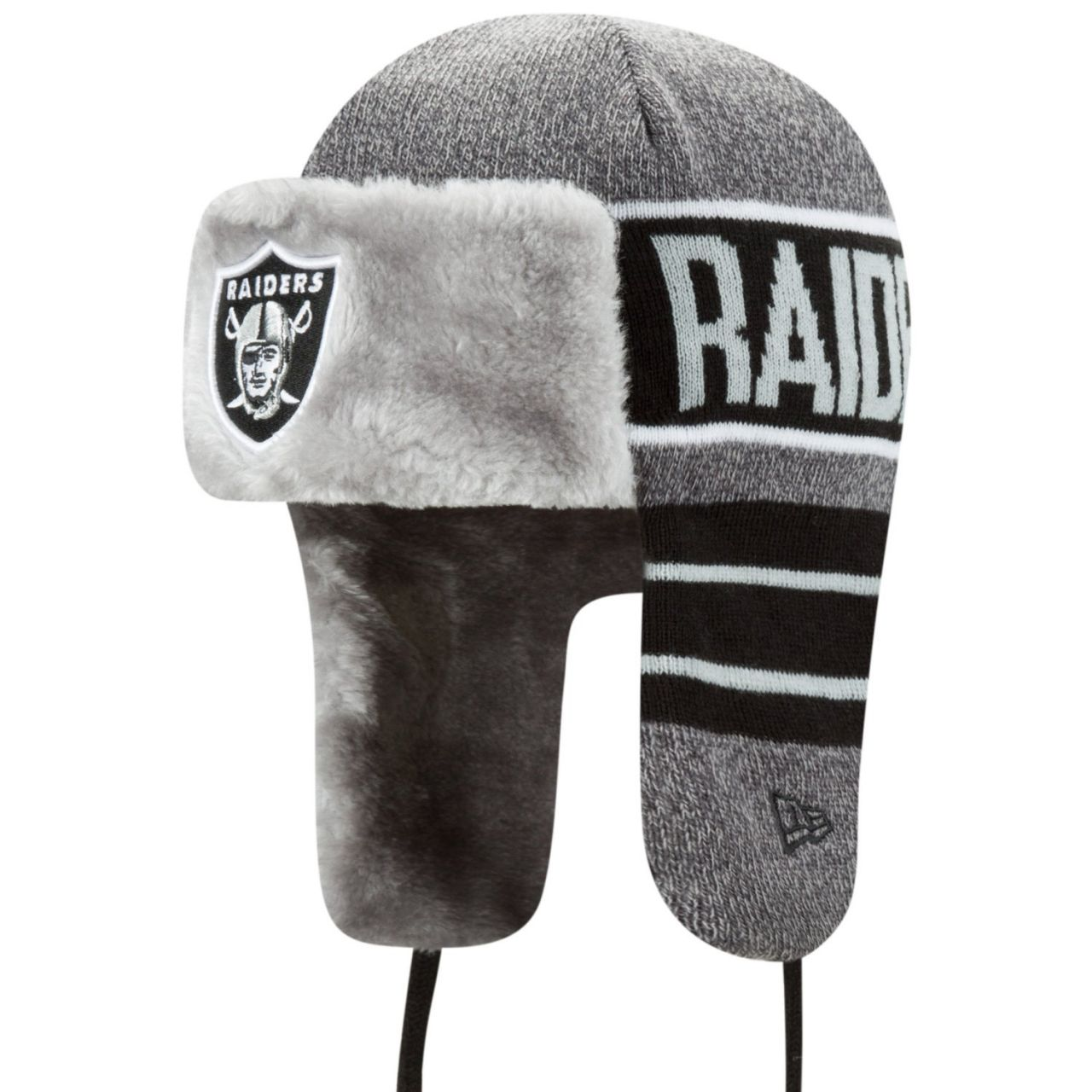 amfoo - New Era Wintermütze FROSTY TRAPPER - Oakland Raiders