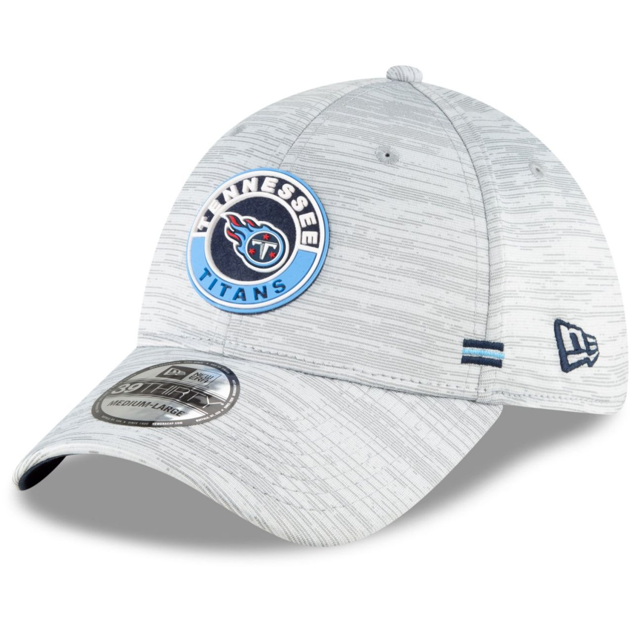 amfoo - New Era 39Thirty Cap - SIDELINE 2020 Tennessee Titans