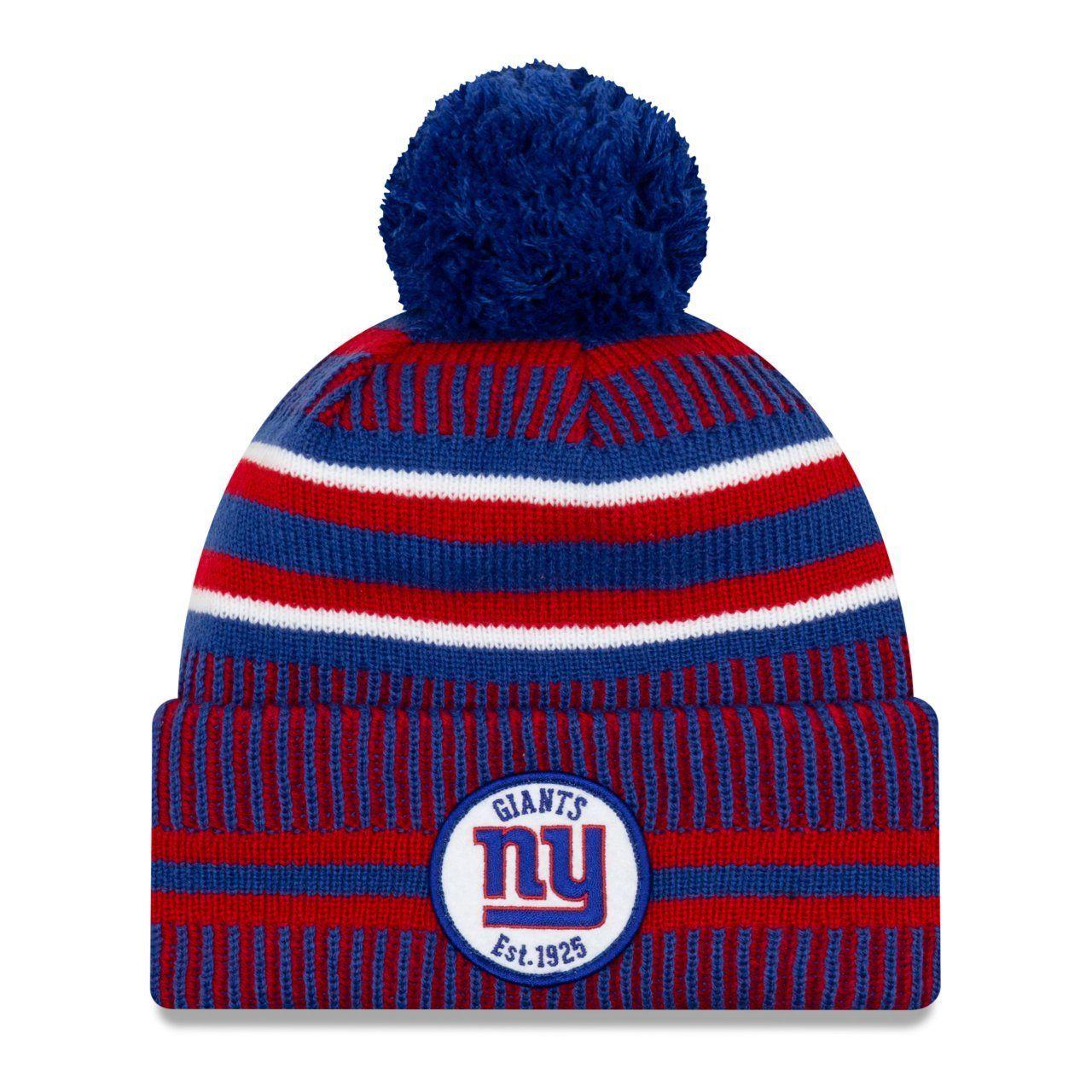 amfoo - New Era Sideline Bommel Kinder Mütze Youth New York Giants