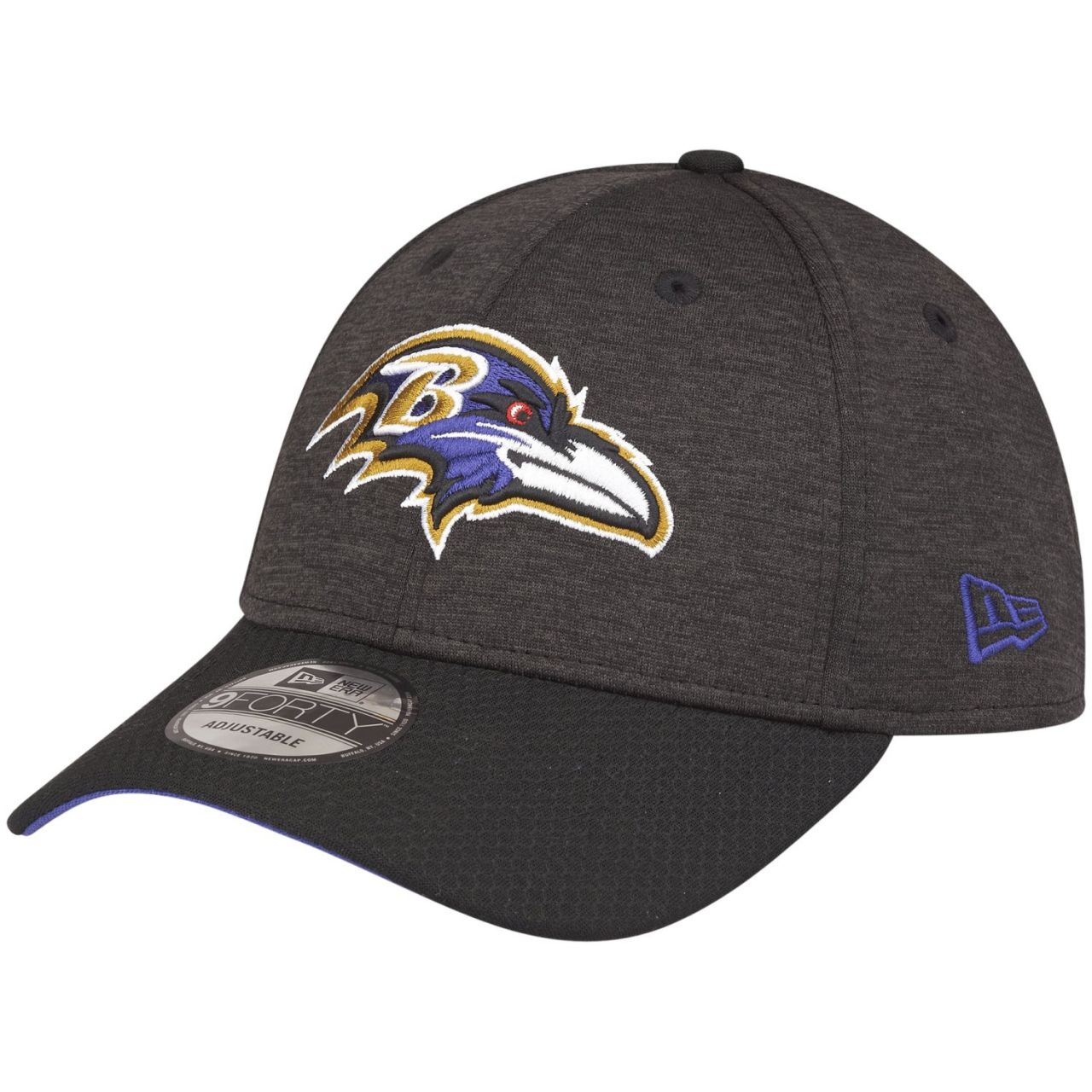 amfoo - New Era 9Forty NFL Cap - SHADOW HEX Baltimore Ravens
