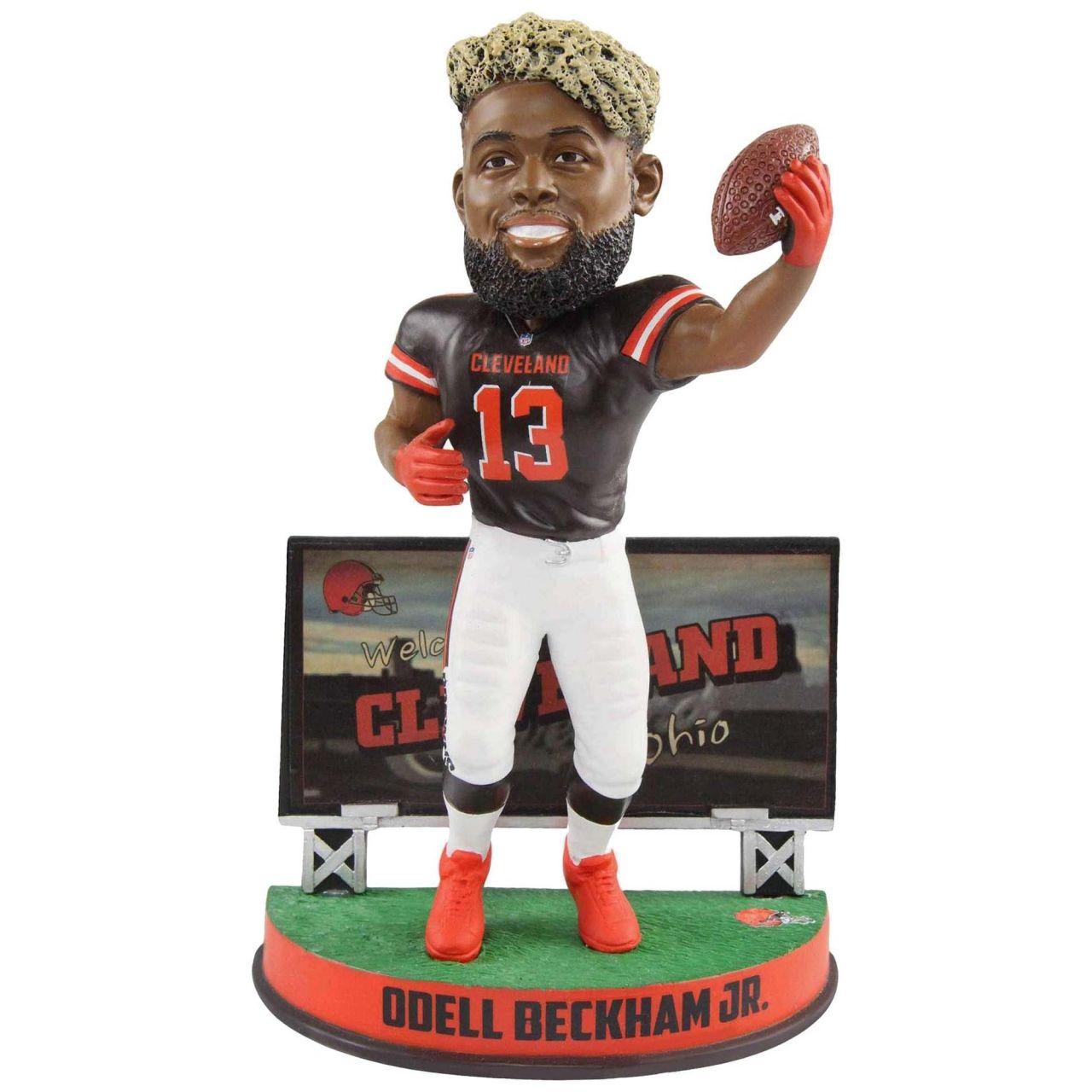 amfoo - Odell Beckham Jr. #13 Bobblehead Cleveland Browns Billboard