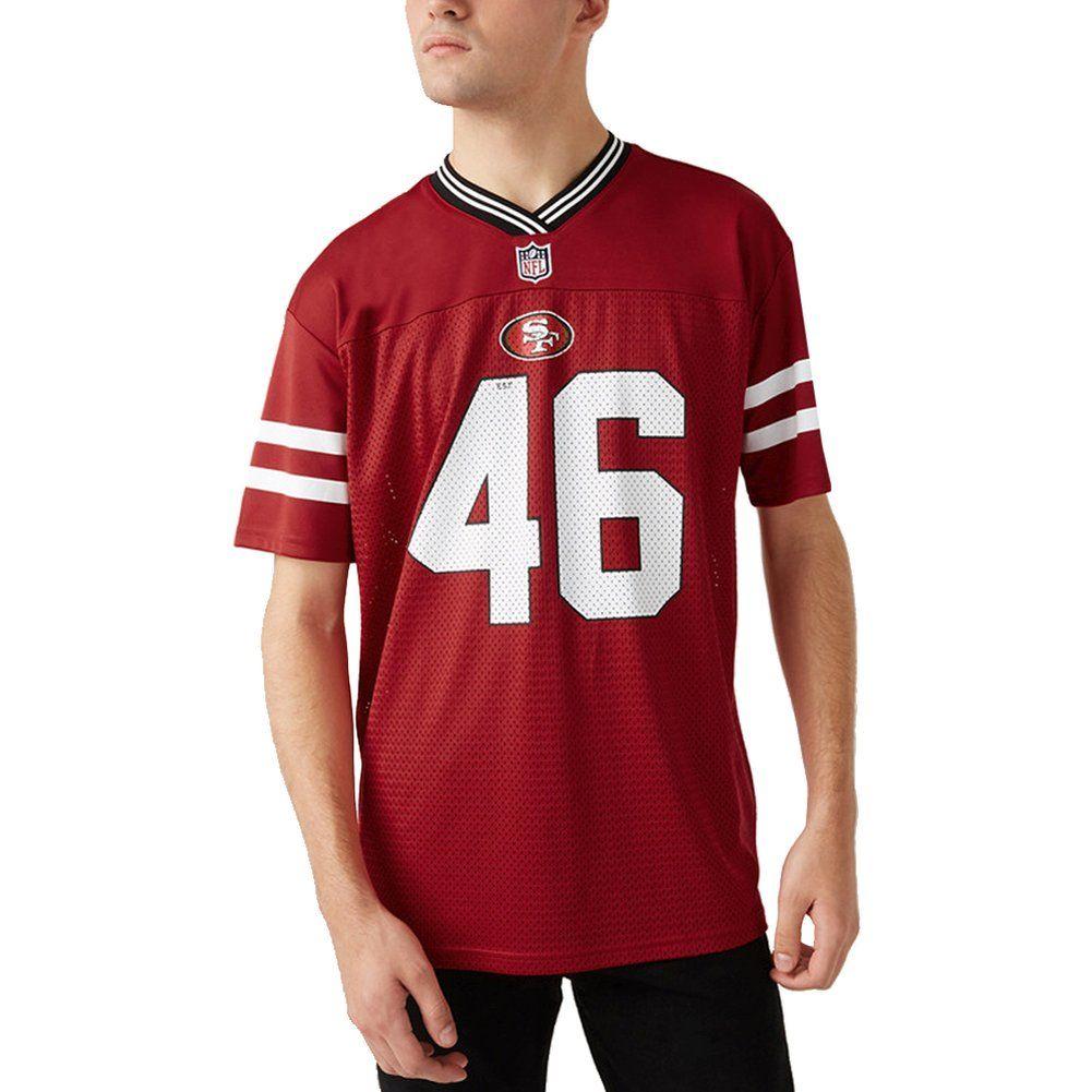 amfoo - New Era NFL Mesh Jersey Trikot - NFL San Francisco 49ers