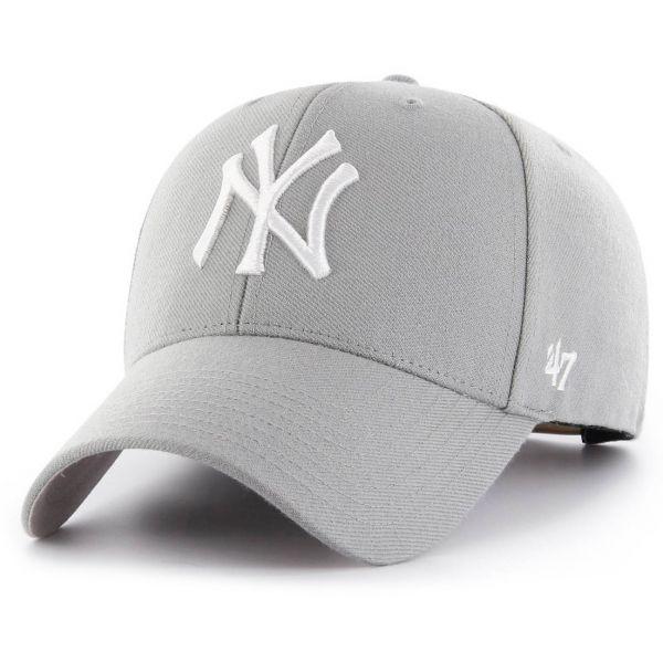 47 Brand Snapback Cap - MLB New York Yankees grau