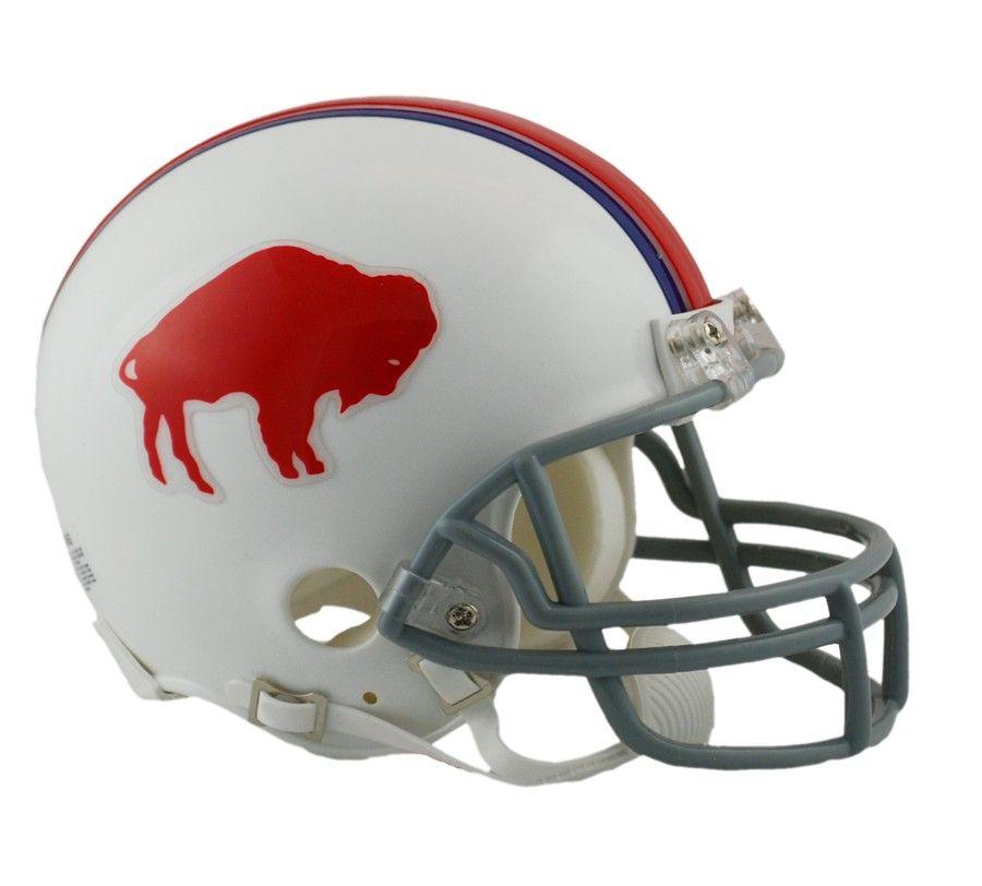 amfoo - Riddell VSR4 Mini Football Helm - NFL Buffalo Bills 1965-73