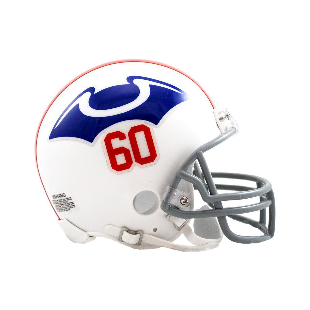 amfoo - Riddell VSR4 Mini Football Helm - New England Patriots 1960