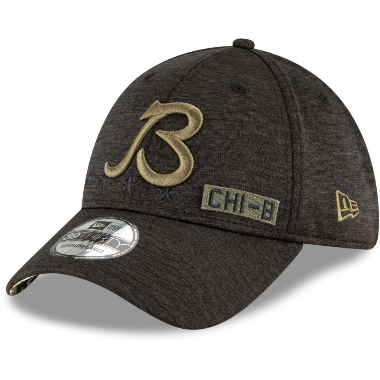 amfoo - New Era 39Thirty Cap Salute to Service Chicago Bears B