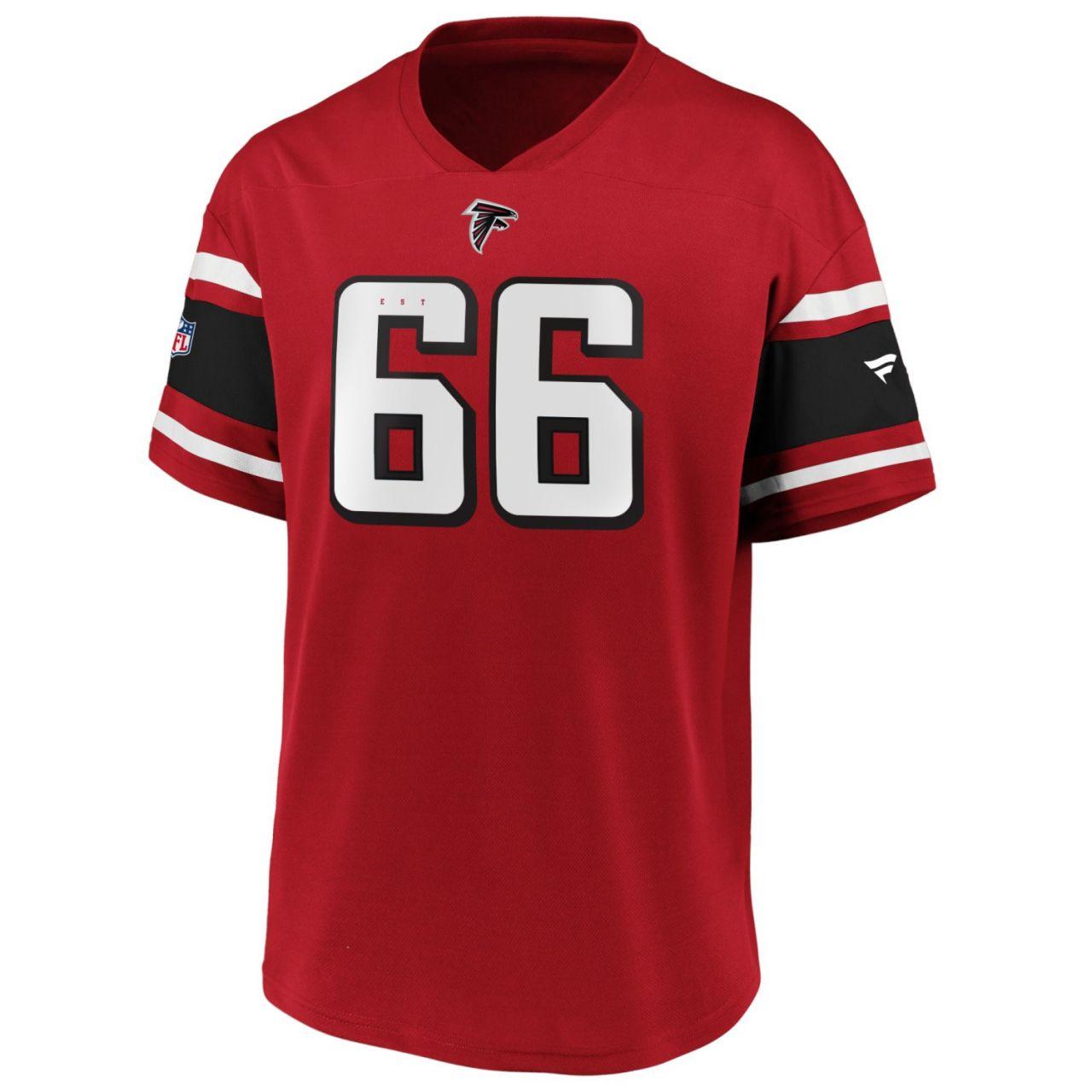 amfoo - Iconic Poly Mesh Supporters Jersey - Atlanta Falcons