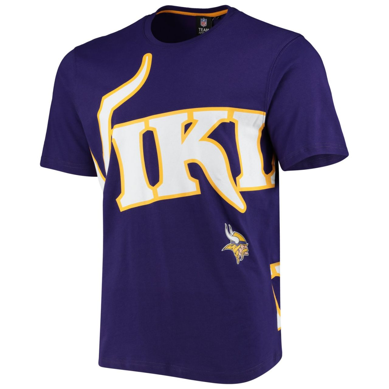 amfoo - Minnesota Vikings BIG GRAPHIC NFL Shirt lila