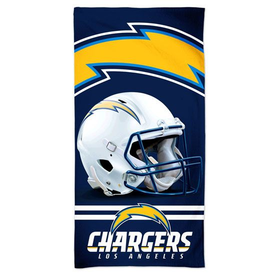 amfoo - Wincraft NFL Los Angeles Chargers 3D Strandtuch 150x75cm
