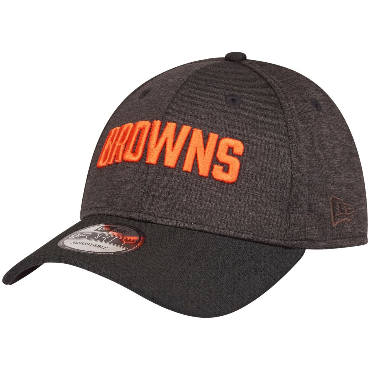 amfoo - New Era 9Forty NFL Cap - SHADOW HEX Cleveland Browns