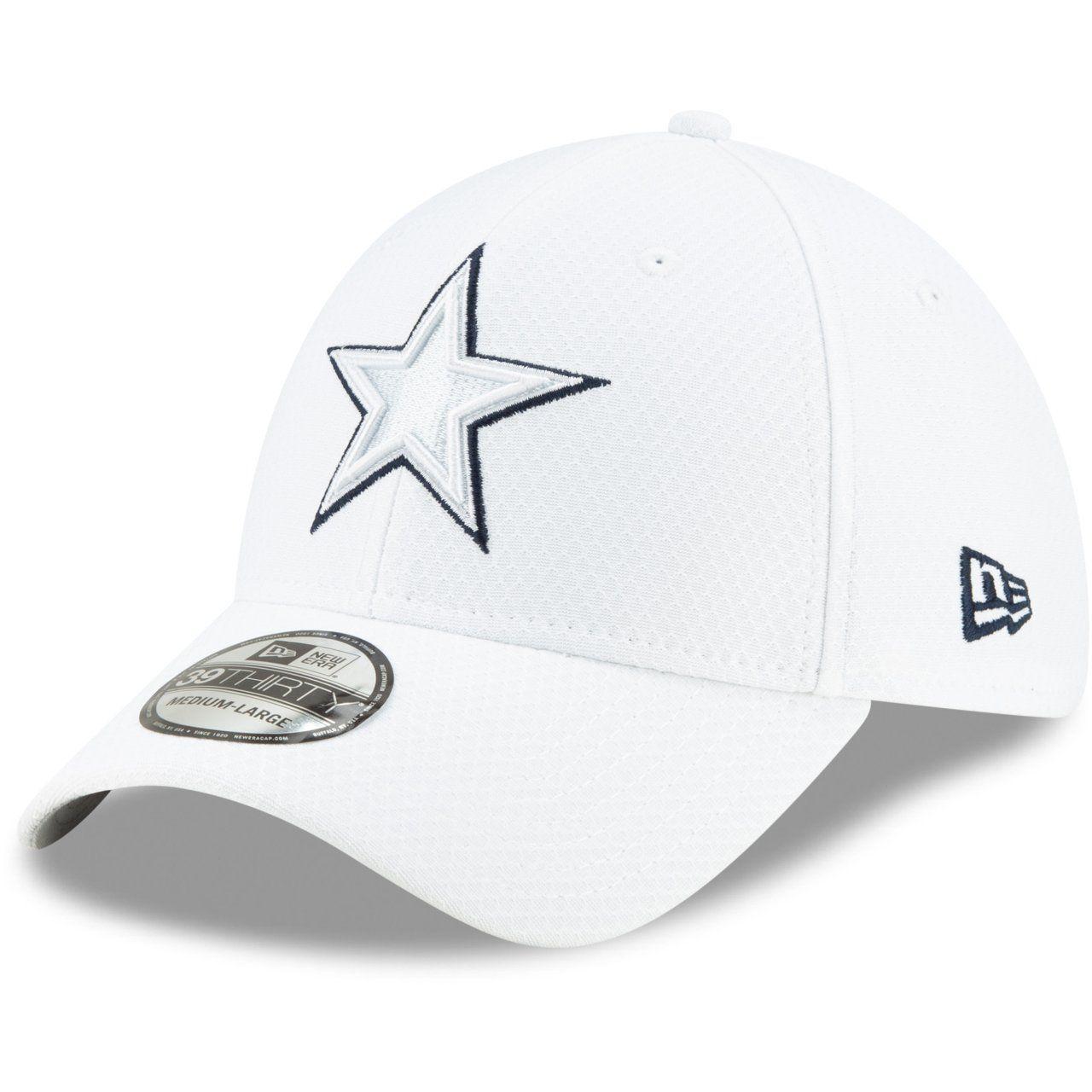 amfoo - New Era 39Thirty Cap PLATINUM Sideline Dallas Cowboys