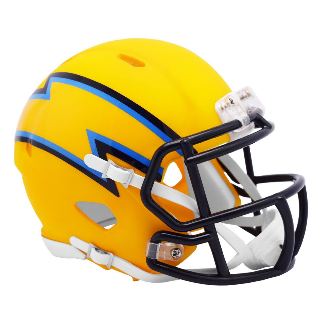amfoo - Riddell Speed Mini Football Helm - AMP Los Angeles Chargers