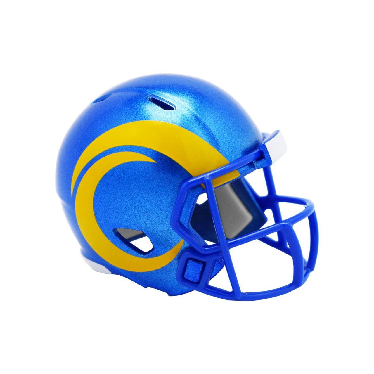 amfoo - Riddell Speed Pocket Football Helm - Los Angeles Rams 2020