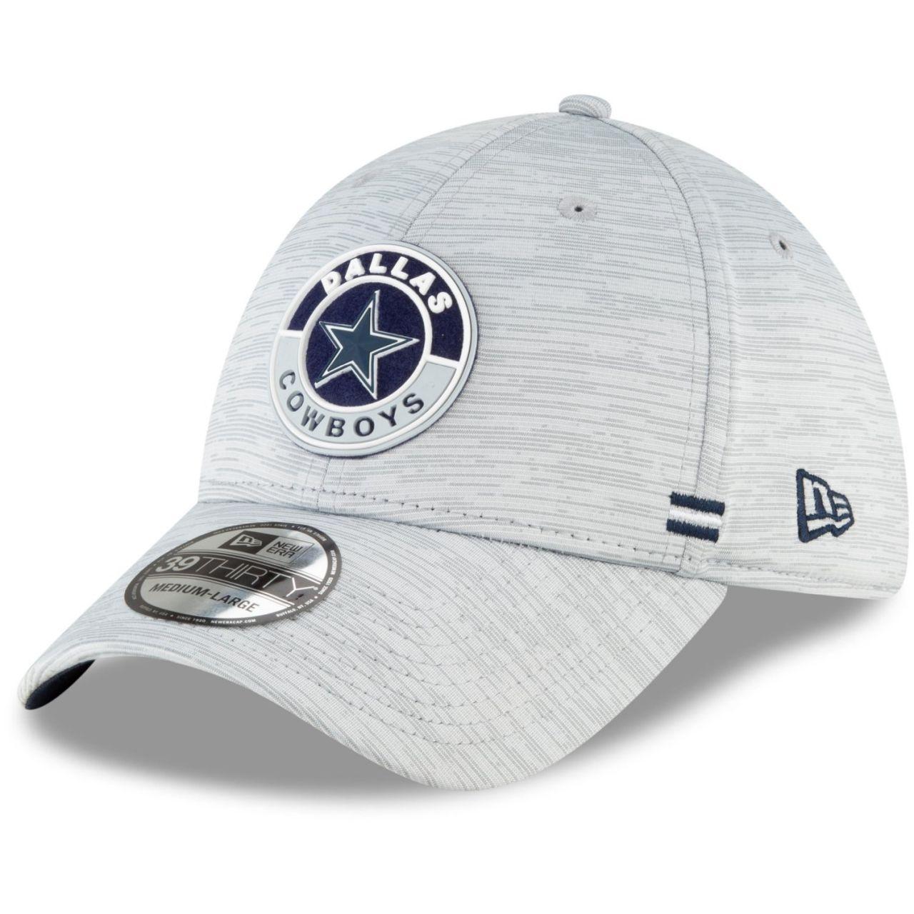 amfoo - New Era 39Thirty Cap - SIDELINE 2020 Dallas Cowboys