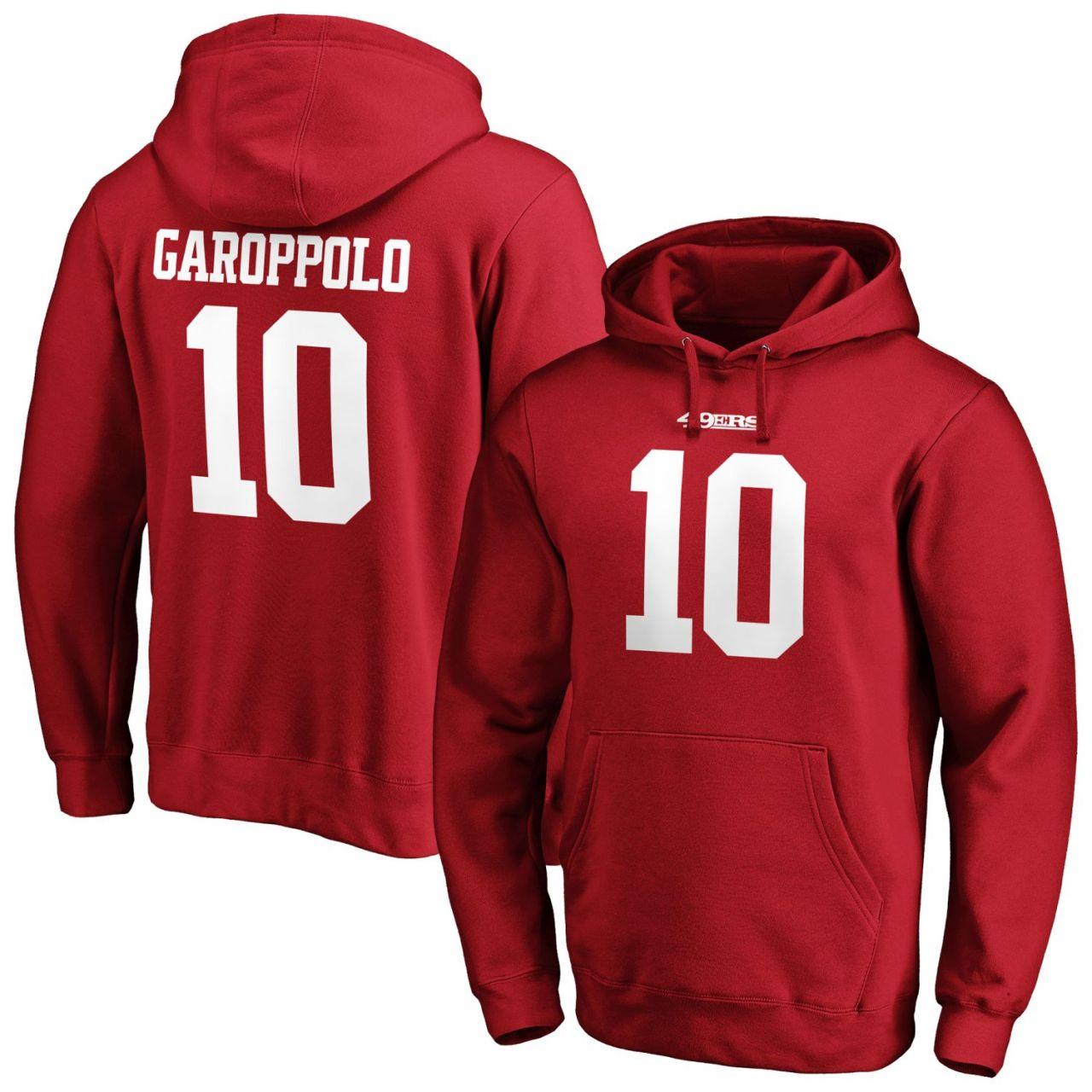 amfoo - San Francisco 49ers NFL Hoody #15 Jimmy Garoppolo
