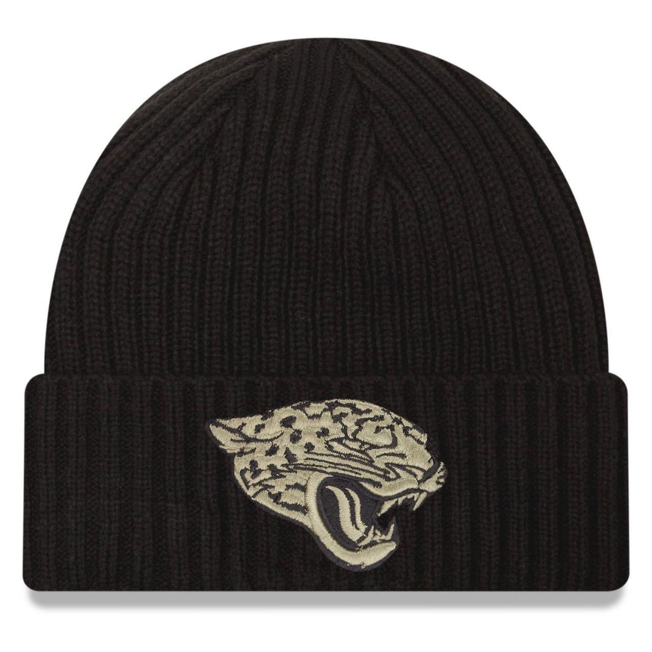 amfoo - New Era Salute to Service Wintermütze - Jacksonville Jaguars