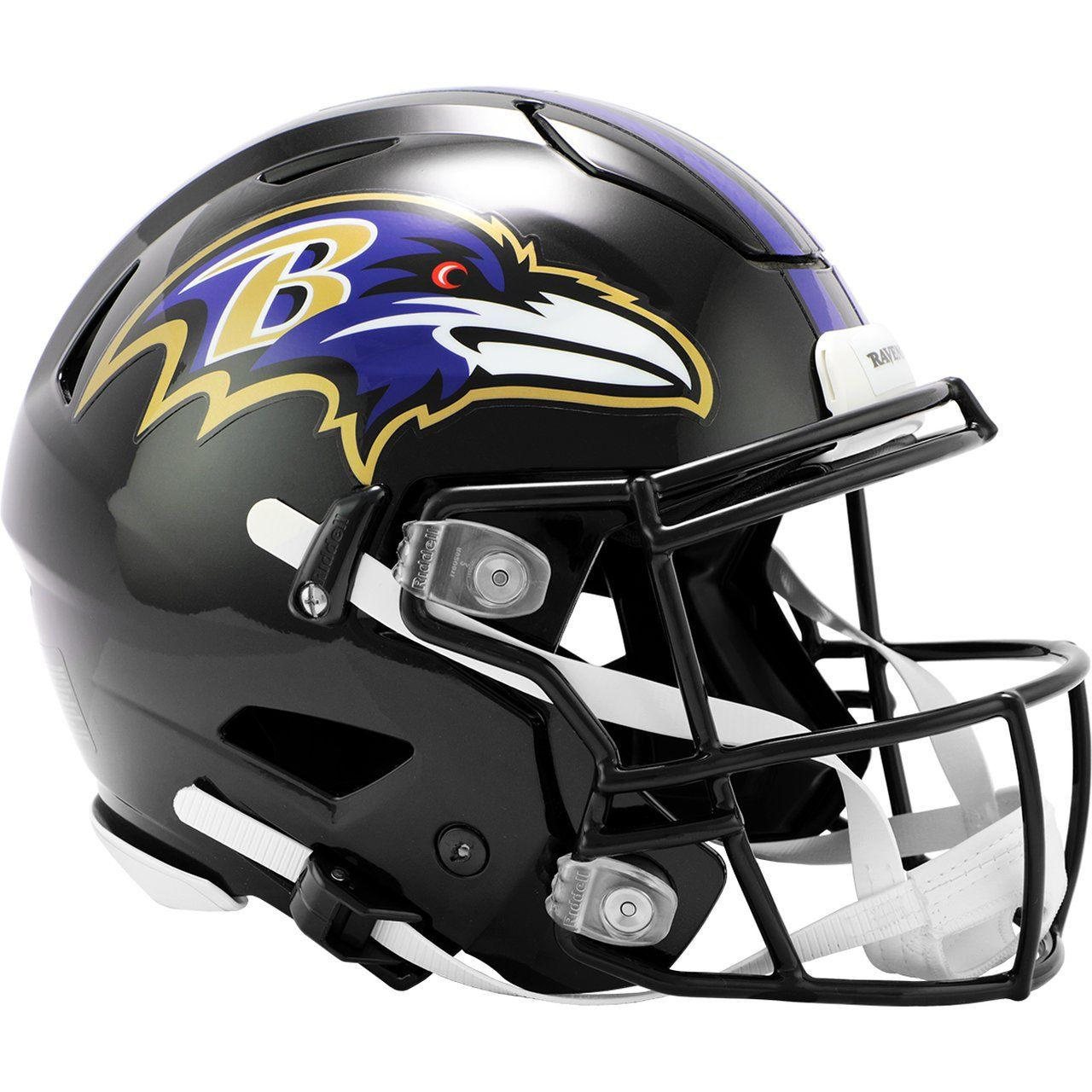 amfoo - Riddell Authentic SpeedFlex Helm - NFL Baltimore Ravens