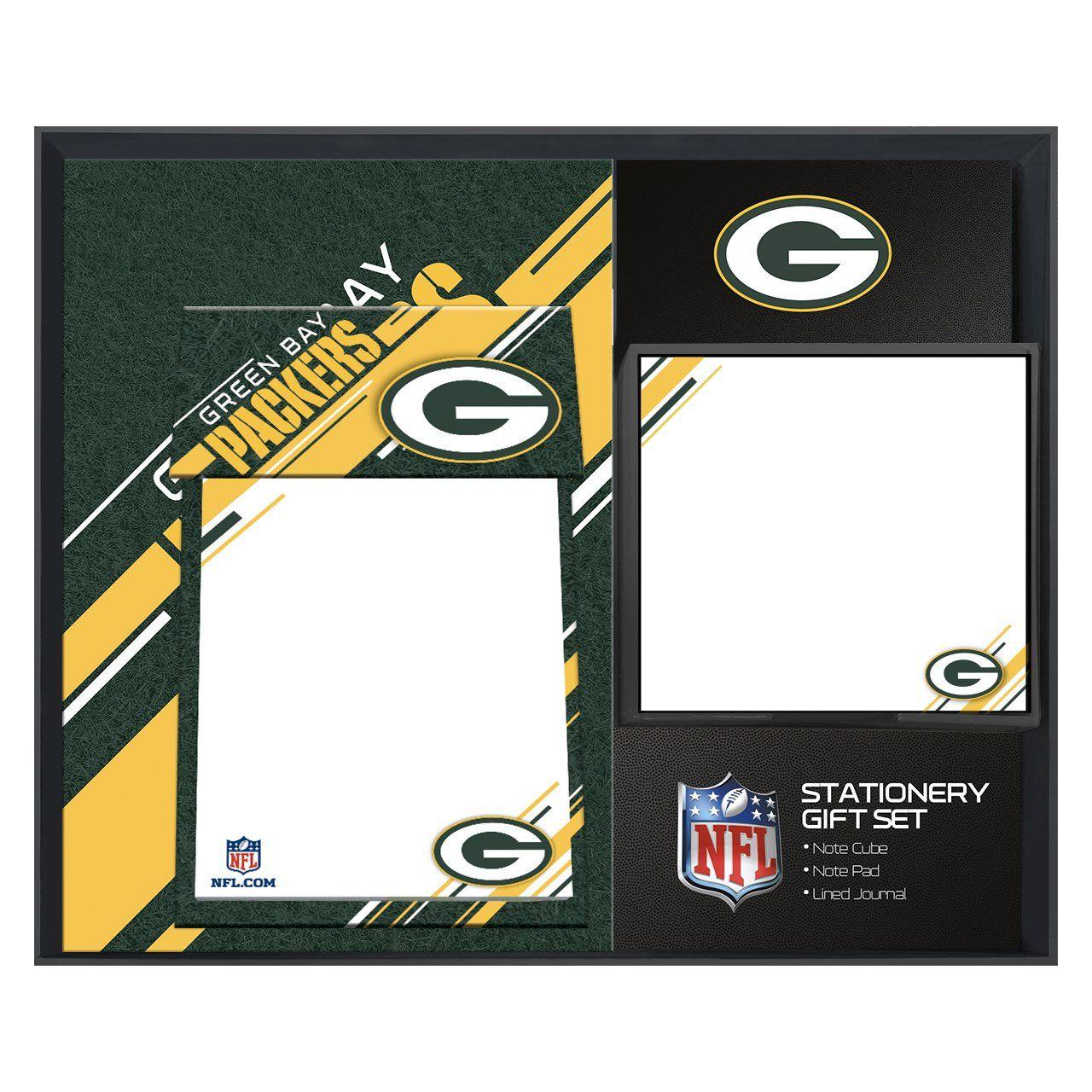 amfoo - Turner NFL Green Bay Packers Schreibtisch Notiz Geschenkset