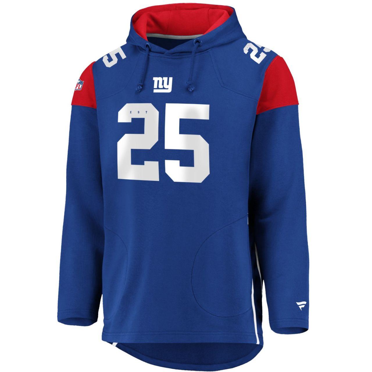 amfoo - Iconic Franchise Long Hoodie - NFL New York Giants