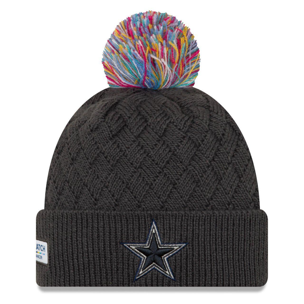 amfoo - New Era Damen Strick Mütze - CRUCIAL CATCH Dallas Cowboys