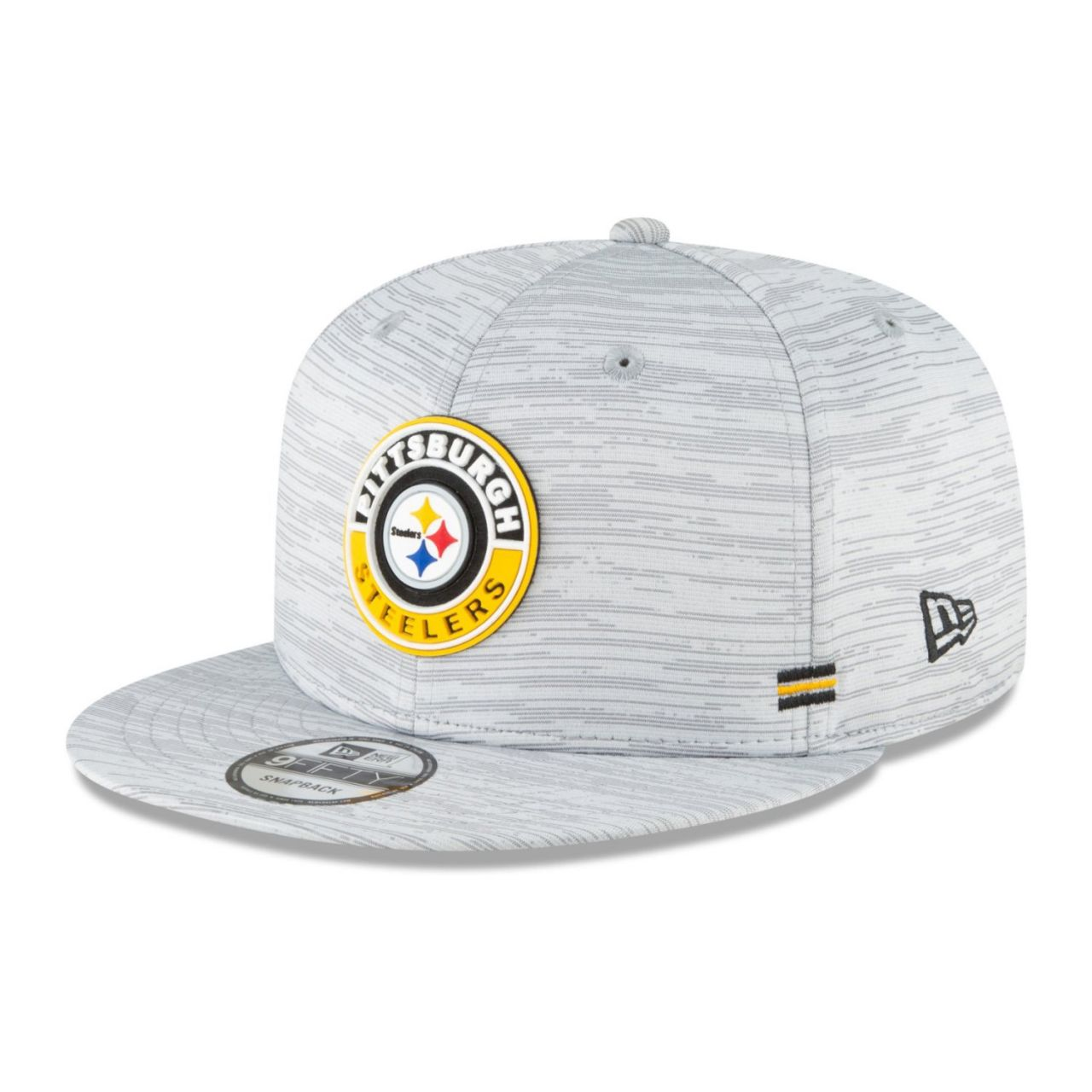 amfoo - New Era Snapback Kinder Cap SIDELINE 20 Pittsburgh Steelers
