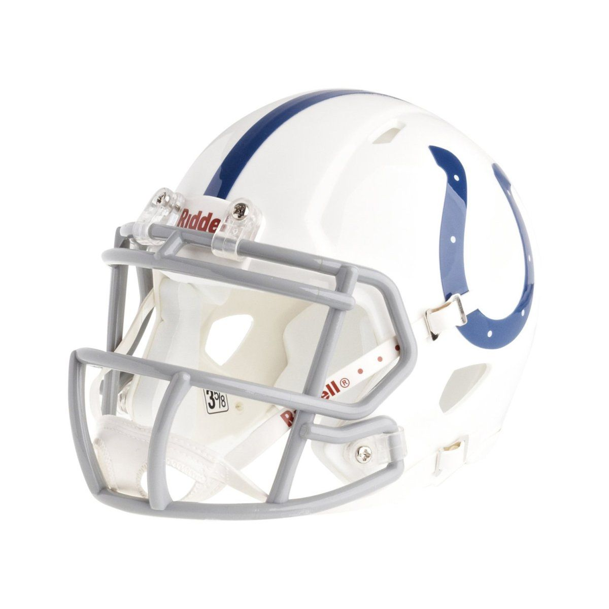 amfoo - Riddell Mini Football Helm - NFL Speed Indianapolis Colts