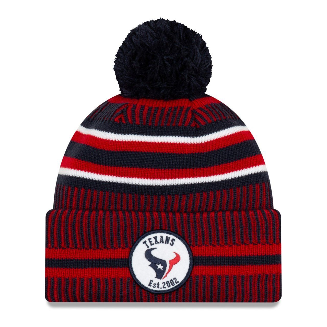 amfoo - New Era Sideline Bommel Kinder Youth Mütze Houston Texans